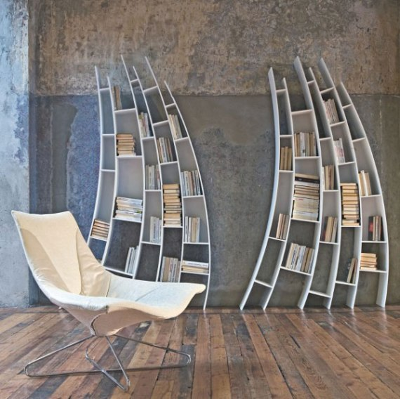 bookshelf Designed by Saba Italia