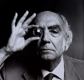 Escritor e prêmio Nobel, José Saramago.