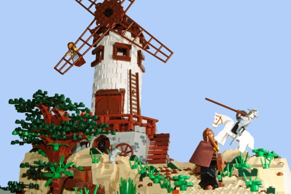don quijote lego